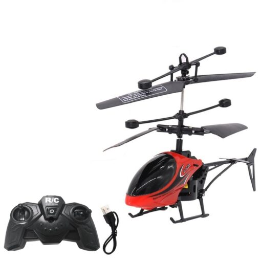HIINST Remote sensing helicopter Mini RC Infrared Induction Remote Control Toy 2CH Gyro Helicopter RC Drone 1