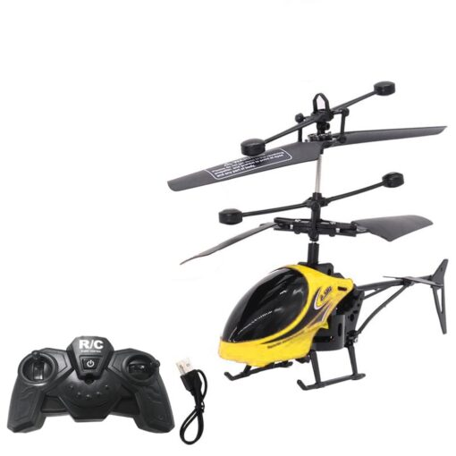 HIINST Remote sensing helicopter Mini RC Infrared Induction Remote Control Toy 2CH Gyro Helicopter RC Drone 2