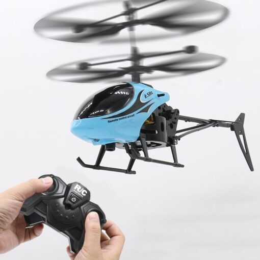 HIINST Remote sensing helicopter Mini RC Infrared Induction Remote Control Toy 2CH Gyro Helicopter RC Drone 3
