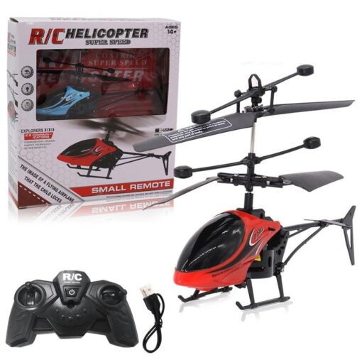 HIINST Remote sensing helicopter Mini RC Infrared Induction Remote Control Toy 2CH Gyro Helicopter RC Drone 5