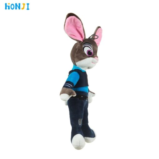 HONJI 15inch Movie Zootopia Plush Toy Cute Zootopia Rabbit Judy Hopps Plush Toys Doll Soft Stuffed 1