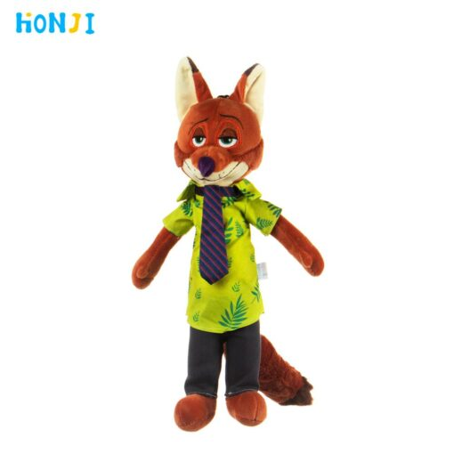 HONJI 15inch Movie Zootopia Plush Toy Cute Zootopia Rabbit Judy Hopps Plush Toys Doll Soft Stuffed 2