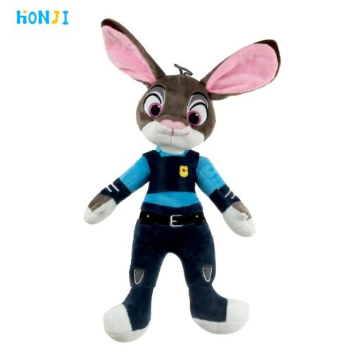 HONJI 15inch Movie Zootopia Plush Toy Cute Zootopia Rabbit Judy Hopps Plush Toys Doll Soft Stuffed 3