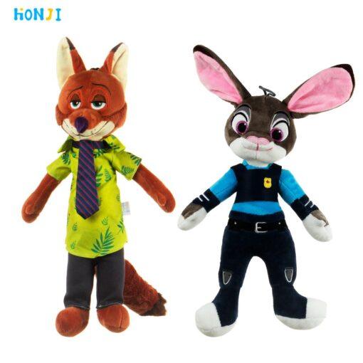 HONJI 15inch Movie Zootopia Plush Toy Cute Zootopia Rabbit Judy Hopps Plush Toys Doll Soft Stuffed