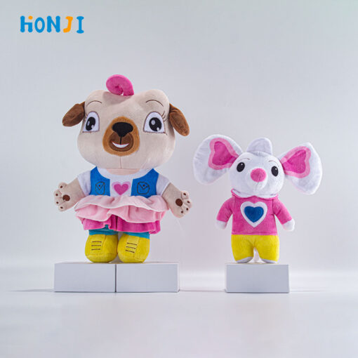 HONJI 2020 New School Cartoon Movies Chip and Potato Stuffed Plush Toys And Mouse Peluche Doll