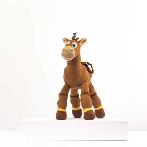 HONJI 32CM Cartoon Story Bullseye Horse Plush Doll Toys Stuffed Animals Horse Doll Figure Children Girl 1