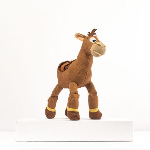 HONJI 32CM Cartoon Story Bullseye Horse Plush Doll Toys Stuffed Animals Horse Doll Figure Children Girl 2