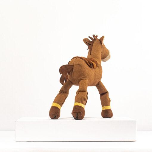 HONJI 32CM Cartoon Story Bullseye Horse Plush Doll Toys Stuffed Animals Horse Doll Figure Children Girl 3
