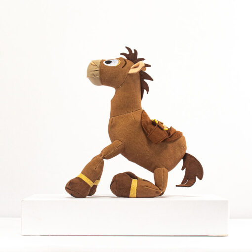 HONJI 32CM Cartoon Story Bullseye Horse Plush Doll Toys Stuffed Animals Horse Doll Figure Children Girl 4