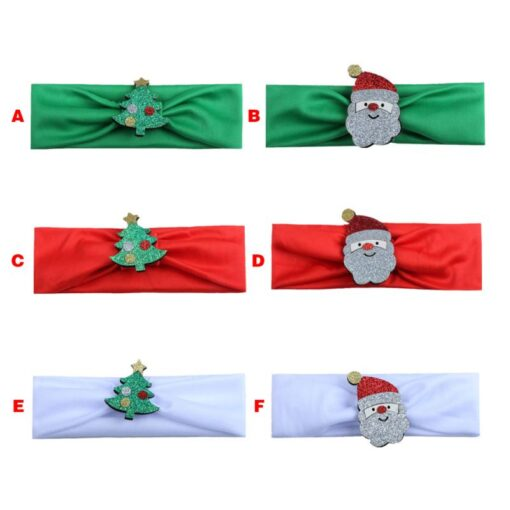 Hair Bands Baby Boy Girl Christmas Elastic Headwears Headband Children Headdress Kids Accessories Gift New 2020 2