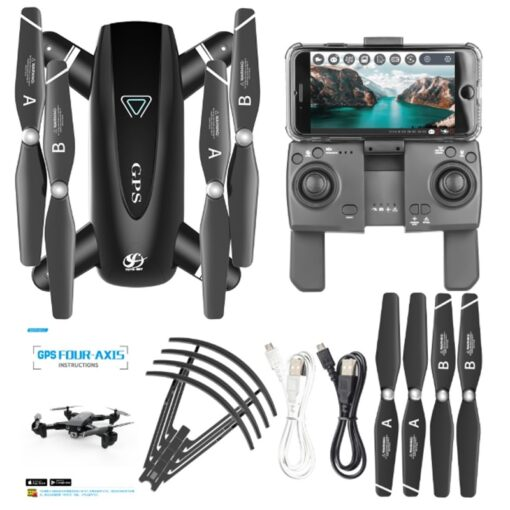 Halolo S167 5G GPS Foldable Profissional Drone with Camera 4K HD Selfie Wide Angle RC Quadcopter 1