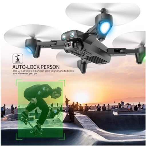 Halolo S167 5G GPS Foldable Profissional Drone with Camera 4K HD Selfie Wide Angle RC Quadcopter 2