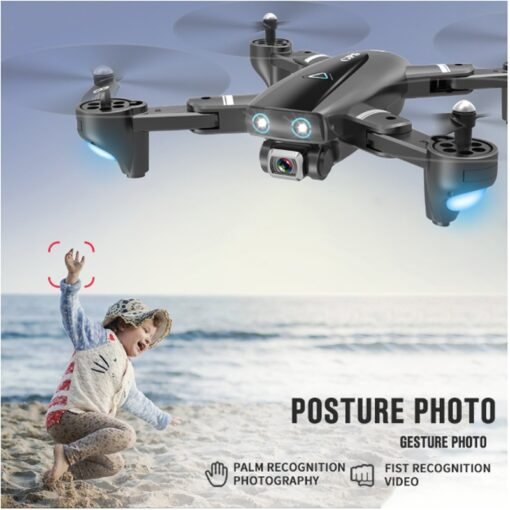 Halolo S167 5G GPS Foldable Profissional Drone with Camera 4K HD Selfie Wide Angle RC Quadcopter 3