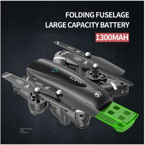 Halolo S167 5G GPS Foldable Profissional Drone with Camera 4K HD Selfie Wide Angle RC Quadcopter 5