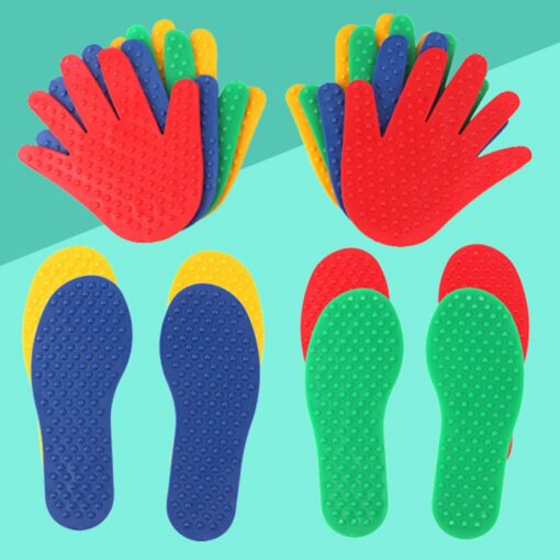 Hands and Feet Game Indoor Outdoor Toys Games for Kids Jump Play Mat Sport Crawling Jump 2