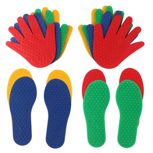 Hands and Feet Game Indoor Outdoor Toys Games for Kids Jump Play Mat Sport Crawling Jump 3