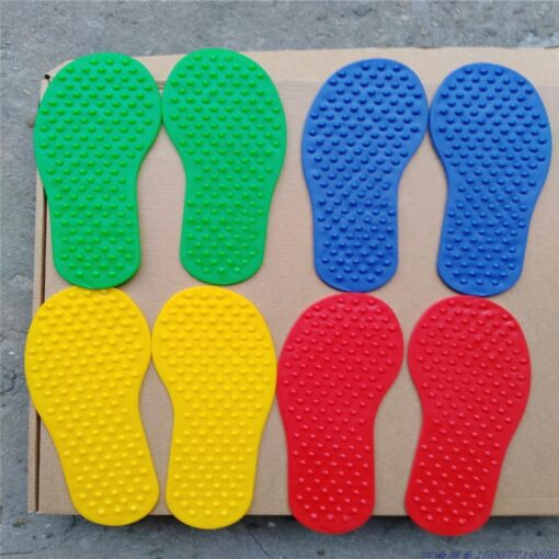 Hands and Feet Game Indoor Outdoor Toys Games for Kids Jump Play Mat Sport Crawling Jump 4