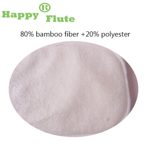 HappyFlute 10 pcs 2 layers bamboo 2 layers microfiber Newborn Liner Insert For Baby Cloth Diaper 2