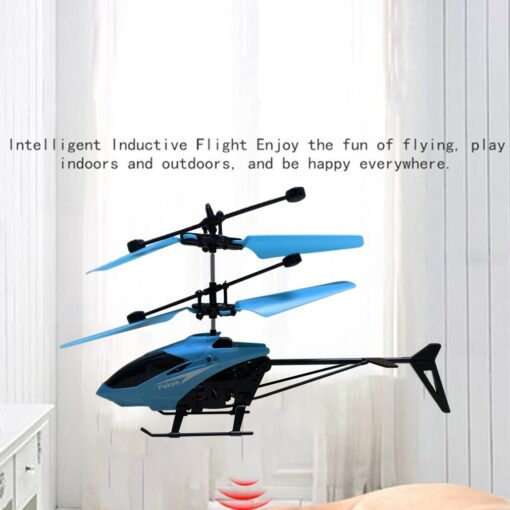 Helicopter Induction Aircraft Toys Flower Fairy Xiaohuangren Suspension Luminous Compact Children S Toys 1