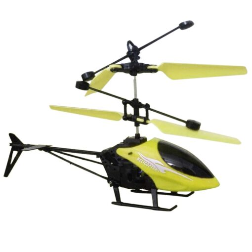 Helicopter Induction Aircraft Toys Flower Fairy Xiaohuangren Suspension Luminous Compact Children S Toys 3