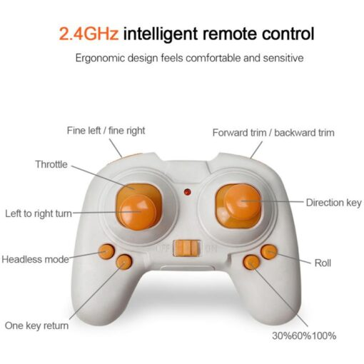 Helicopter Mini 4 Axis Foldable S9 RC Quadcopter Pocket Remote Control Micro Drone Copter Kids Toys 2