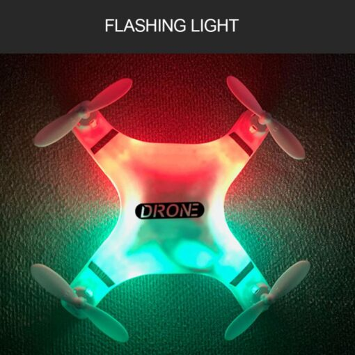 Helicopter Mini 4 Axis Foldable S9 RC Quadcopter Pocket Remote Control Micro Drone Copter Kids Toys 4