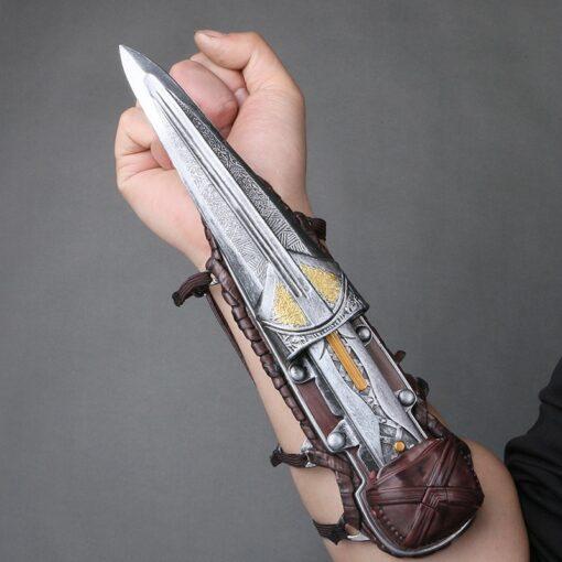 Hidden Blade Sleeve Sword Action Figure Assassins Hidden Blade Edward Weapons Sleeves Swords Can The Ejection 1