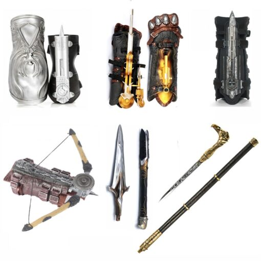 Hidden Blade Sleeve Sword Action Figure Assassins Hidden Blade Edward Weapons Sleeves Swords Can The Ejection