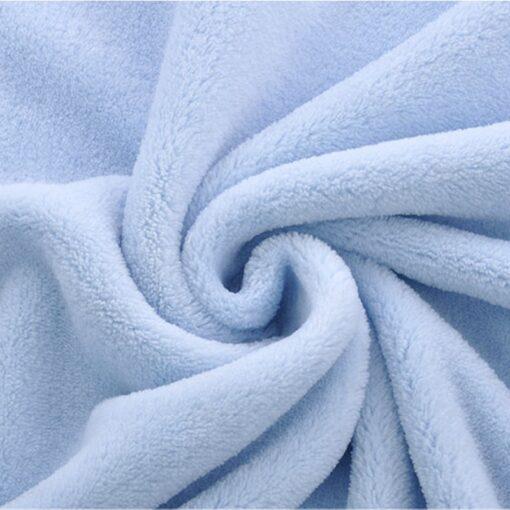 High Quality Baby Blanket Thermal Fleece Cobertor Infantil Swaddle Nap Receiving Stroller Wrap Newborn Baby Bedding 3
