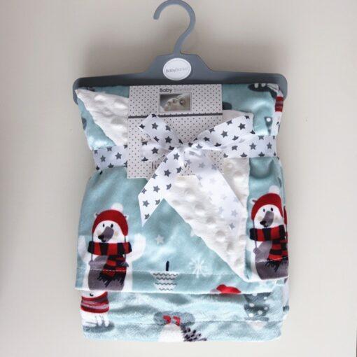 High Quality Baby Blanket Winter Flannel Fleece Flamingo Blanket Infant Swaddle Stroller Wrap For Newborn Baby 1