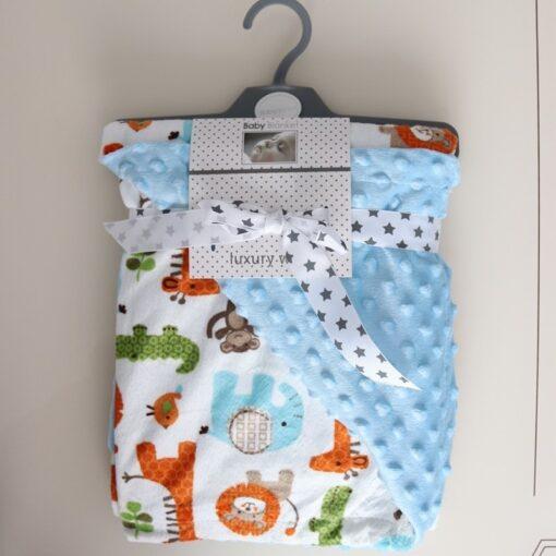 High Quality Baby Blanket Winter Flannel Fleece Flamingo Blanket Infant Swaddle Stroller Wrap For Newborn Baby 3