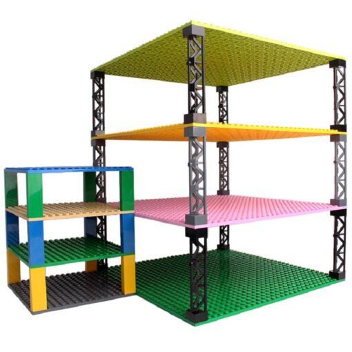 High Quality Classic Brand Building Blocks baseplate City Creative Classic Bricks Bulk Figures Educational Kids Toys 3