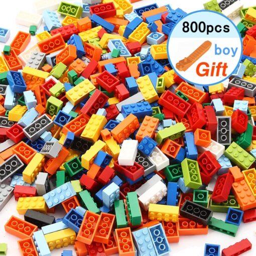High Quality Classic Brand Building Blocks baseplate City Creative Classic Bricks Bulk Figures Educational Kids Toys 5