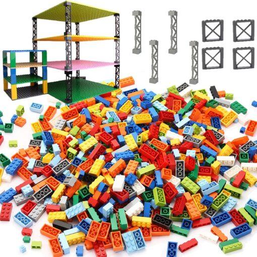 High Quality Classic Brand Building Blocks baseplate City Creative Classic Bricks Bulk Figures Educational Kids Toys