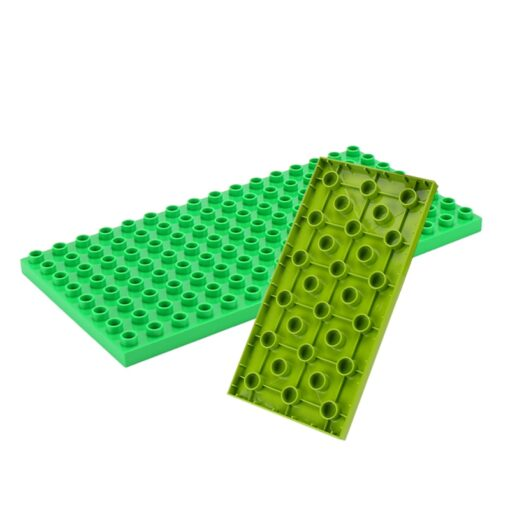 High Quality Double side Baseplates For Big Bricks DIY Building Blocks Base Plate Compatible With Duplos 5