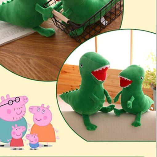 High Quality Mr Dinosaur Plush Doll Toy Anime Soft Kids Gifts Green Curious Popular Plush Doll 3