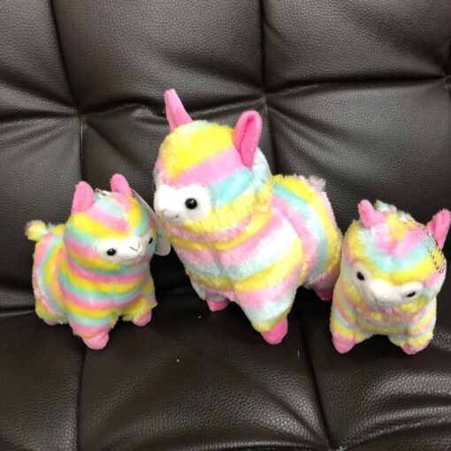 High Quality Soft Cotton Baby Animals Alpaca Plush Toy Two Size Dolls For Children For Gift 1