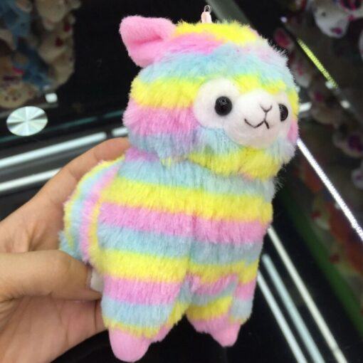 High Quality Soft Cotton Baby Animals Alpaca Plush Toy Two Size Dolls For Children For Gift 2