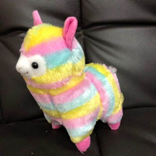 High Quality Soft Cotton Baby Animals Alpaca Plush Toy Two Size Dolls For Children For Gift 3