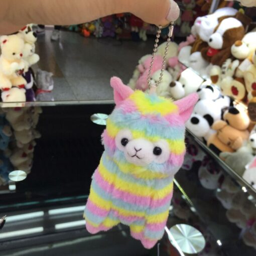 High Quality Soft Cotton Baby Animals Alpaca Plush Toy Two Size Dolls For Children For Gift 4