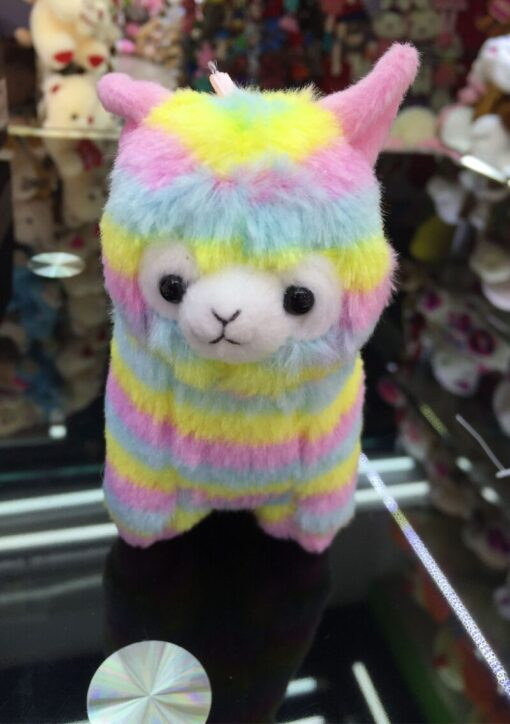 High Quality Soft Cotton Baby Animals Alpaca Plush Toy Two Size Dolls For Children For Gift 5