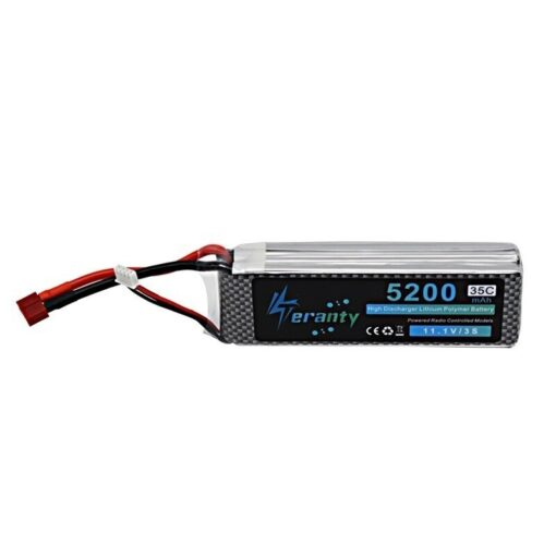 High Rate 11 1V 5200mAh Lipo Battery For RC Cars Robot Airplanes Helicopter Parts 3s Lithium 4