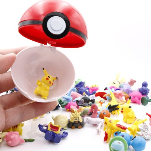 High quality 7CM Pet Elf Ball Pokemones Pokeballs with 2 5 3cm figures Toys Can Dream 4