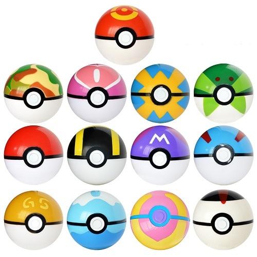 High quality 7CM Pet Elf Ball Pokemones Pokeballs with 2 5 3cm figures Toys Can Dream 5