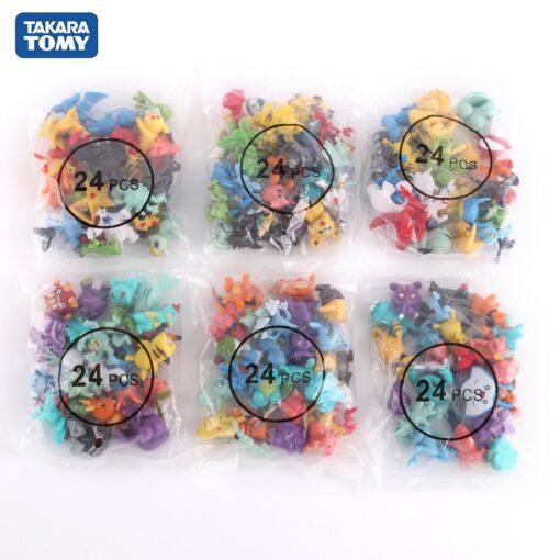 High quality Pokemones Figure Mini figures PokeBall charizard Model Toy Brinquedos Collection Anime Kids Doll 1