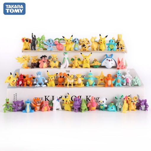 High quality Pokemones Figure Mini figures PokeBall charizard Model Toy Brinquedos Collection Anime Kids Doll 3