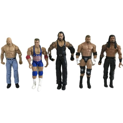 High quality wrestler action figure toys wwe characters occupation wrestling gladiators for Children gifts 2