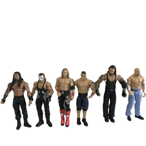 High quality wrestler action figure toys wwe characters occupation wrestling gladiators for Children gifts 3