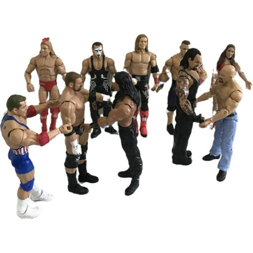 High quality wrestler action figure toys wwe characters occupation wrestling gladiators for Children gifts 5