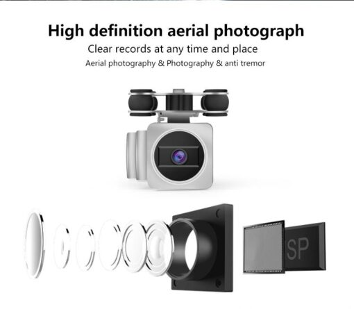 HobbyLane RC Drone Wi Fi Remote Control Aerial Photography Drone HD Camera 200W Pixel UAV Gift 3